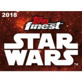 2018 Topps Finest Star Wars Hobby 8 Box Case
