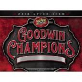 2018 Upper Deck Goodwin Champions Hobby 8 Box Case