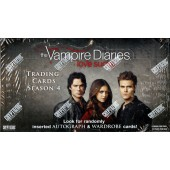 The Vampire Diaries Season 4 (Cryptozoic) - 12 Box Case