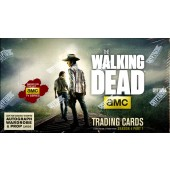 The Walking Dead Season 4: Part 1 (Cryptozoic) - Box