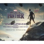 2018 Upper Deck Marvel Black Panther 12 Box Case