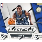 2014/15 Panini Prizm Basketball Jumbo 8 Box Case
