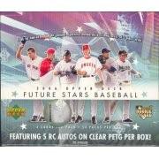 2006 Upper Deck Future Stars Baseball Hobby 12 Box Case