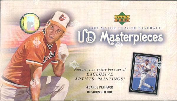 2007 Upper Deck Masterpieces Baseball Hobby Box