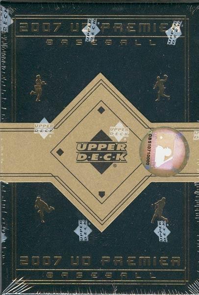 2007 Upper Deck Premier Baseball Hobby Box