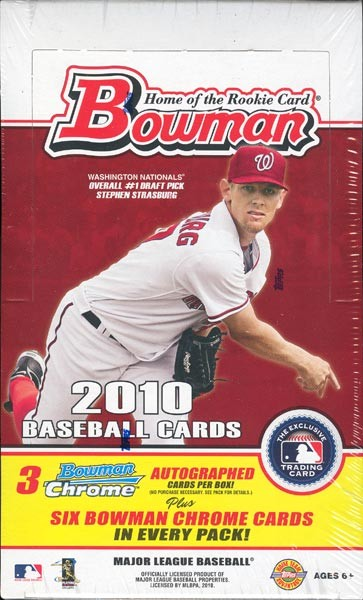 2010 Bowman Baseball Jumbo (HTA) Box