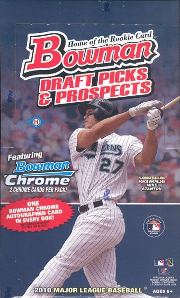 2010 Bowman Draft Picks & Prospects Baseball Hobby Box