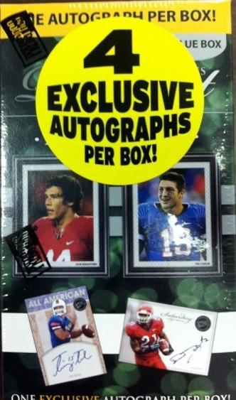 2010 Press Pass PE Kickoff Blaster Football Box