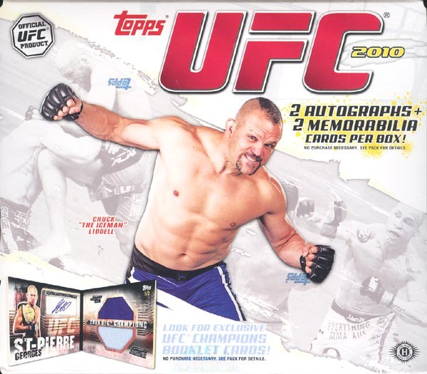 2010 Topps UFC Series 4 Hobby 12 Box Case