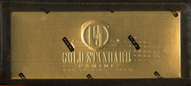 2010/11 Panini Gold Standard Basketball Hobby 10 Box Case