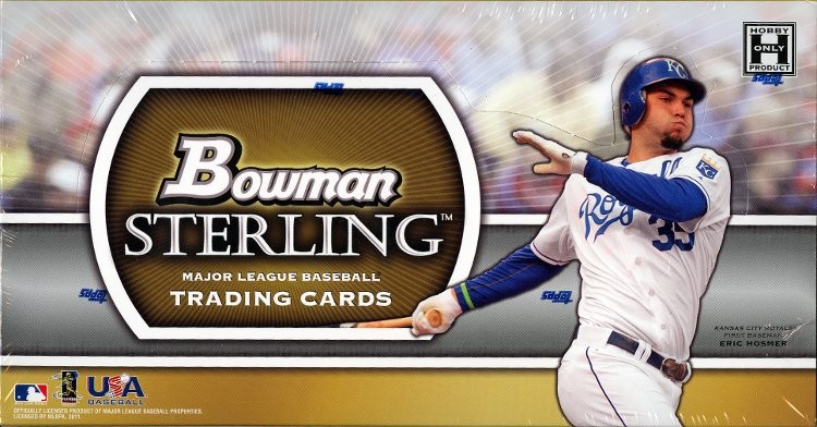 2011 Bowman Sterling Baseball Hobby 4 Box Case