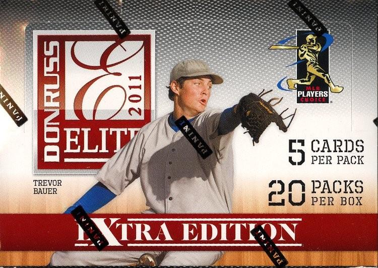 2011 Donruss Elite Extra Edition Baseball Hobby 20 Box Case