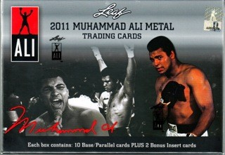 2011 Leaf Muhammad Ali Metal Boxing Hobby 10 Box Case