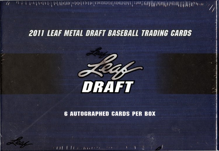 2011 Leaf Metal Baseball Hobby 12 Box Case