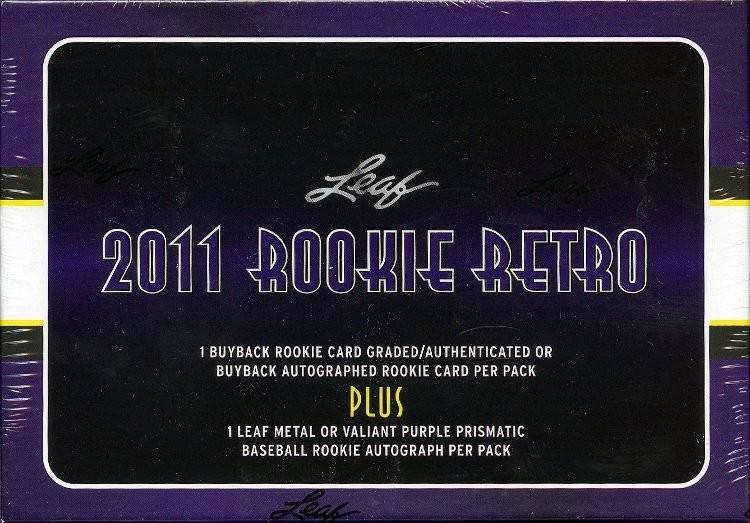 2011 Leaf Rookie Retro Hobby Box