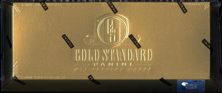 2011 Panini Gold Standard Football Hobby 15 Box Case