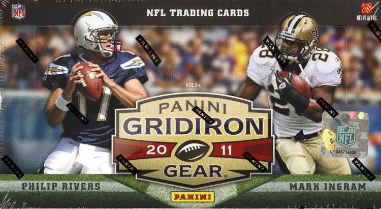 2011 Panini Gridiron Gear Football Hobby 16 Box Case