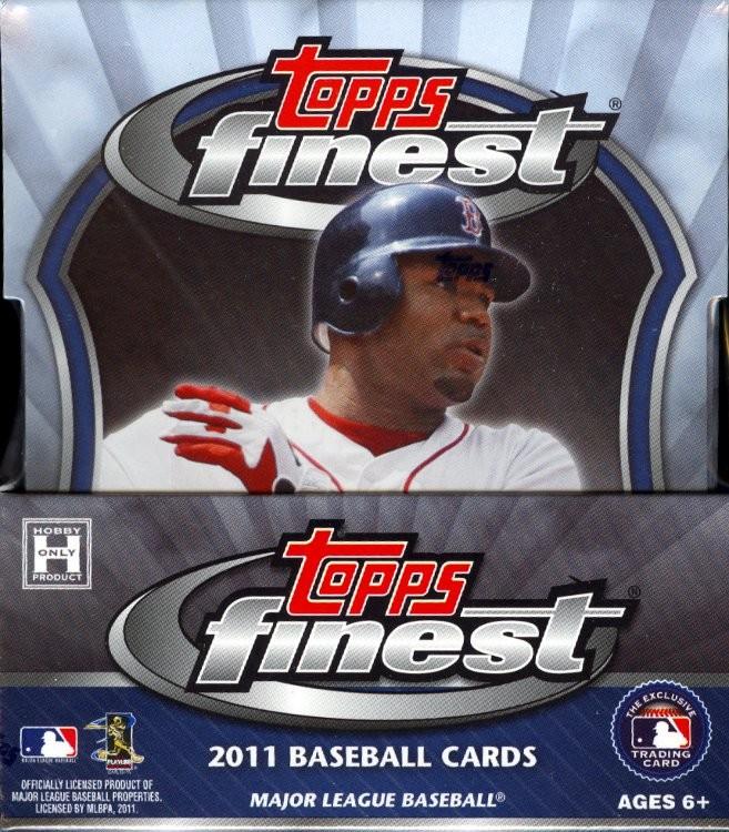 2011 Topps Finest Baseball Hobby 8 Box Case