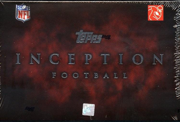 2011 Topps Inception Football Hobby 8 Box Case