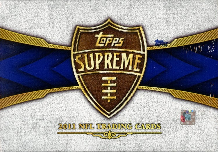 2011 Topps Supreme Football Hobby 16 Box Case