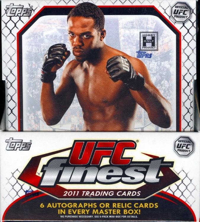 2011 Topps UFC Finest Hobby 8 Box Case