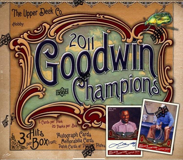 2011 Upper Deck Goodwin Champions Baseball Hobby 16 Box Case