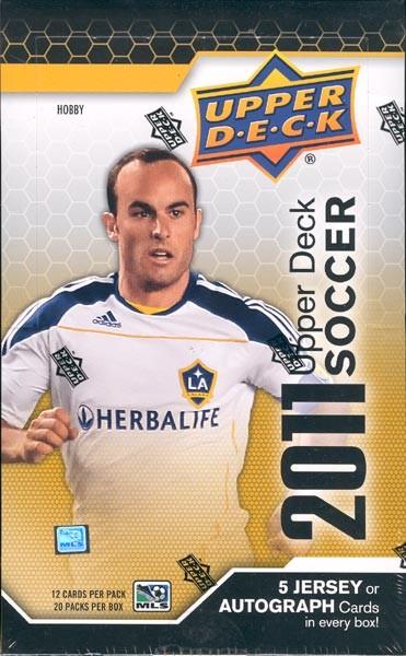 2011 Upper Deck Soccer Hobby 12 Box Case