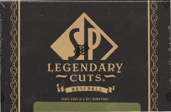2011 Upper Deck SP Legendary Cuts Baseball Hobby 5 Box Case