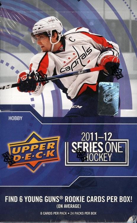 2011/12 Upper Deck Series 1 Hockey Hobby 12 Box Case
