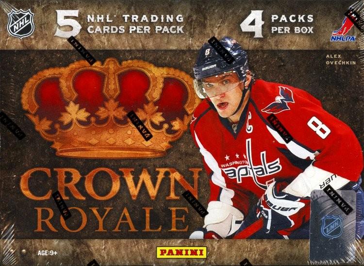 2011/12 Panini Crown Royale Hockey Hobby 12 Box Case