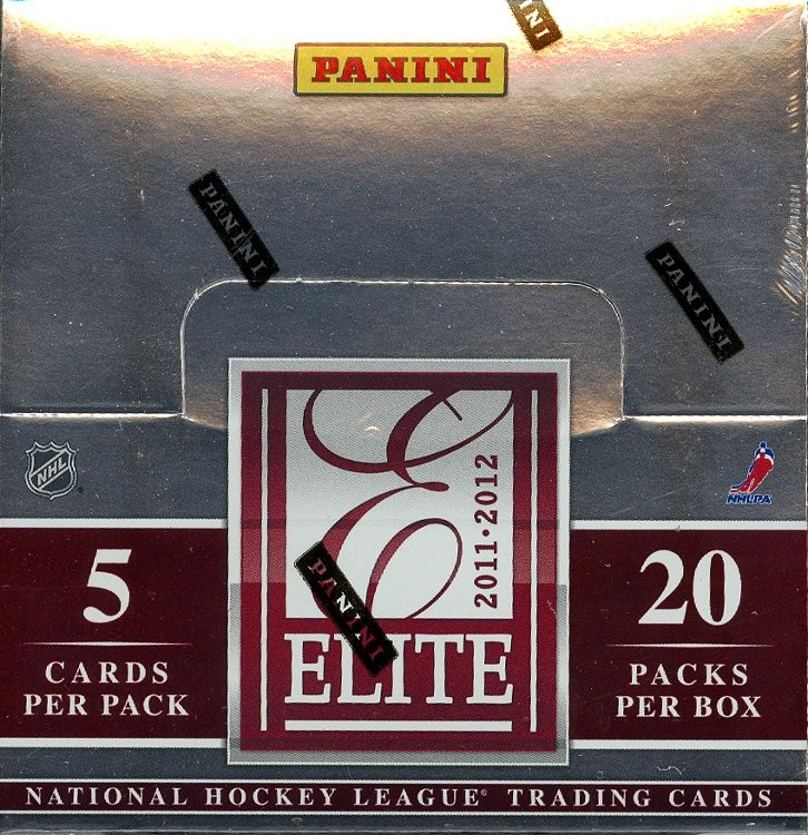 2011/12 Panini Elite Hockey Hobby 12 Box Case