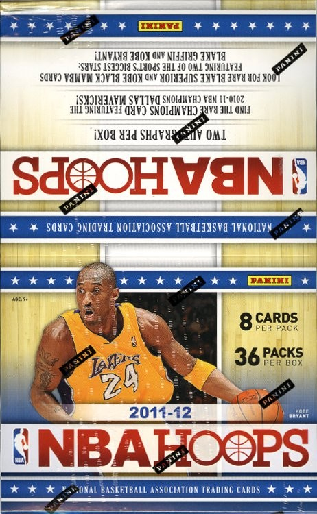 2011/12 Panini Hoops Basketball Hobby 20 Box Case