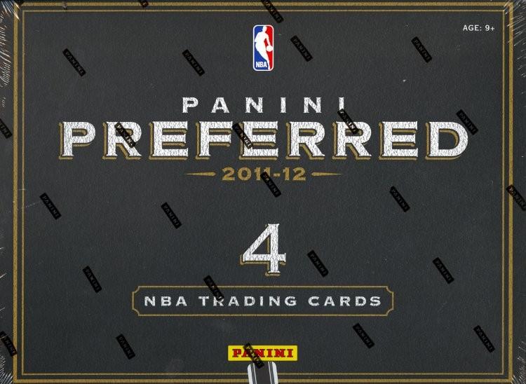 2011/12 Panini Preferred Basketball Hobby 10 Box Case
