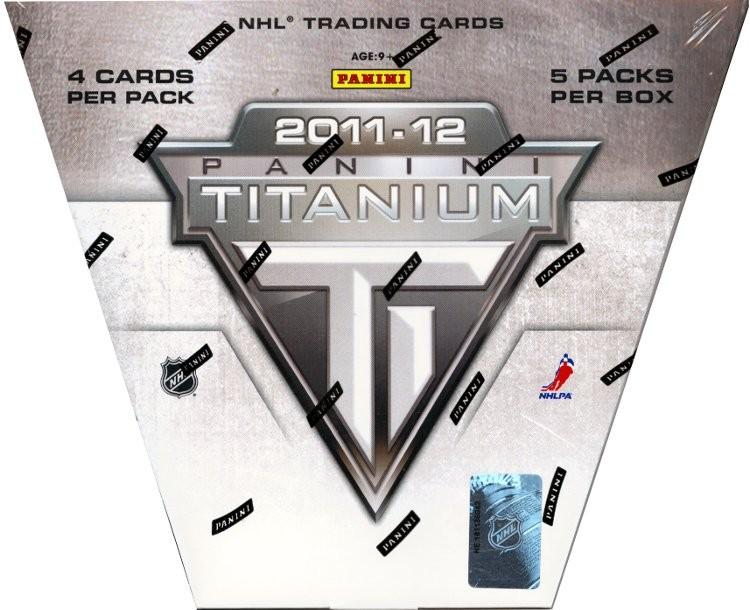 2011-12 Panini Titanium Hockey Hobby 8 Box Case