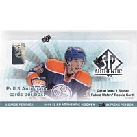 2011/12 Upper Deck SP Authentic Hockey Hobby 12 Box Case