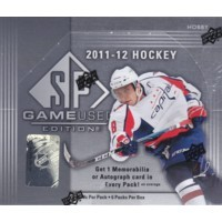 2011/12 Upper Deck SP Game Used Hockey Hobby 12 Box Case