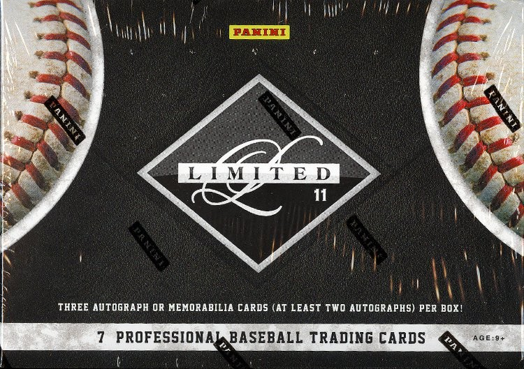 2011 Panini Limited Baseball Hobby 15 Box Case