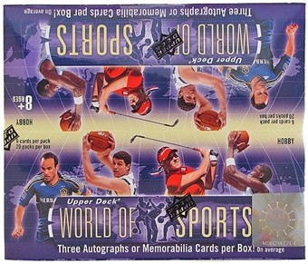 2011 Upper Deck World of Sports Hobby 18 Box Case