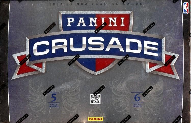 2012/13 Panini Crusades Basketball Hobby 12 Box Case