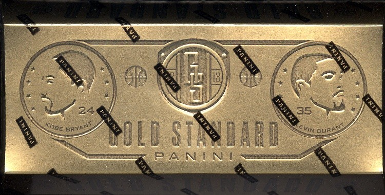 2012/13 Panini Gold Standard Basketball Hobby Box