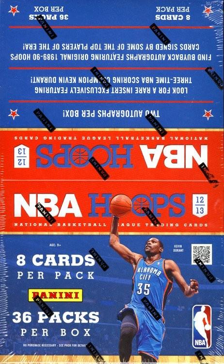 2012/13 Panini NBA Hoops Basketball Hobby 20 Box Case