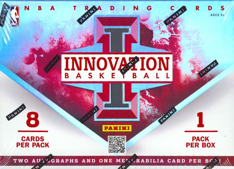 2012/13 Panini Innovation Basketball Hobby 15 Box Case
