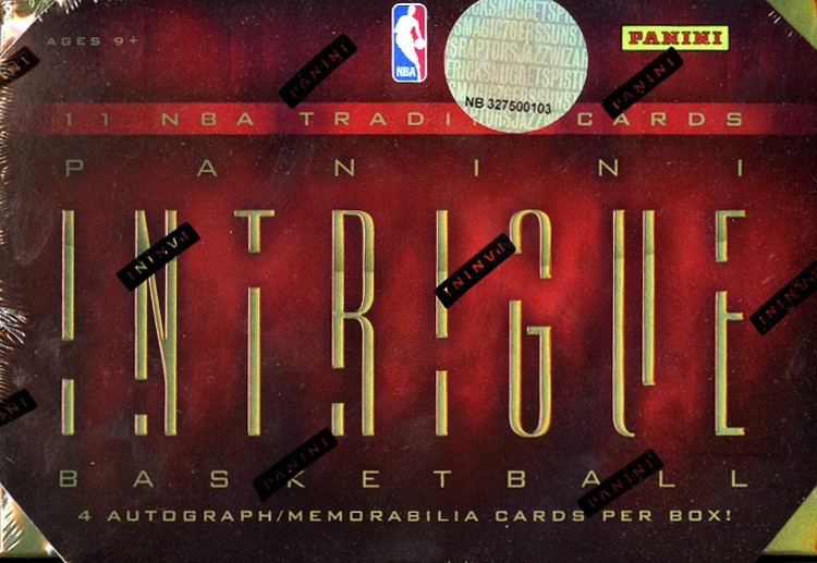 2012/13 Panini Intrigue Basketball Hobby 10 Box Case