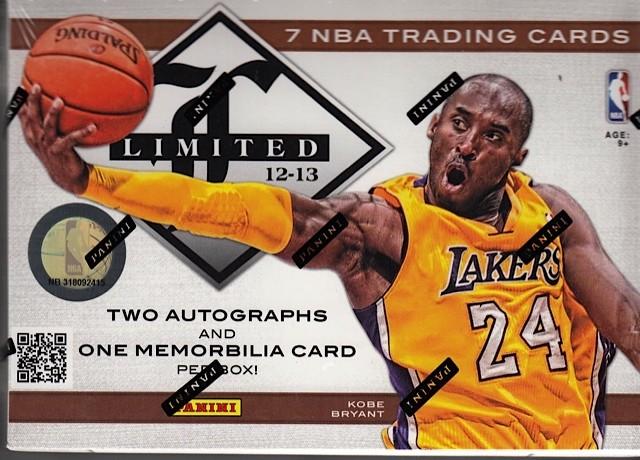 2012/13 Panini Limited Basketball Hobby 15 Box Case