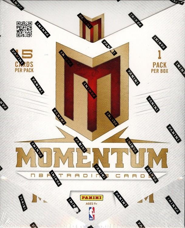 2012/13 Panini Momentum Basketball Hobby 10 Box Case