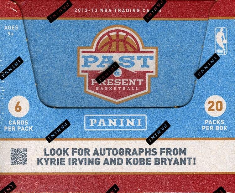 2012/13 Panini Past & Present Basketball Hobby 12 Box Case
