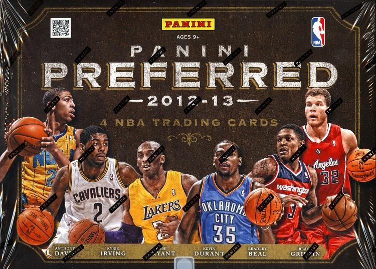 2012/13 Panini Preferred Basketball Hobby 10 Box Case