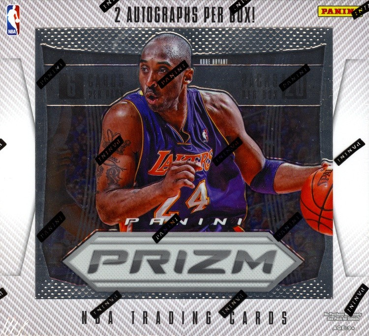 2012/13 Panini Prizm Basketball Hobby 12 Box Case