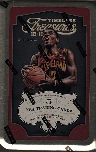 2012/13 Panini Timeless Treasures Basketball Hobby Box