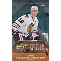 2012/13 Upper Deck Series 1 Hockey Hobby 12 Box Case